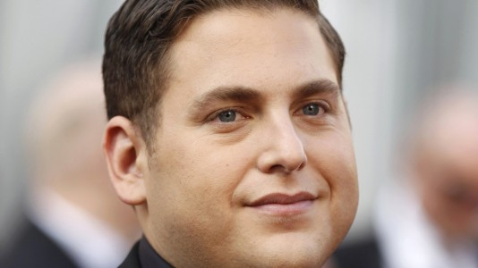 "Jonah Hill em ""The Wolf of Wall Street"" com DiCaprio e Scorsese"