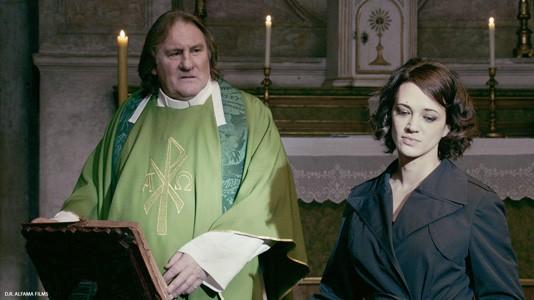 Primeira imagem de Gérard Depardieu no novo filme de Fanny Ardant