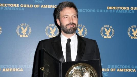 """Ben Affleck ganha prémio dos realizadores com """"Argo"""""""