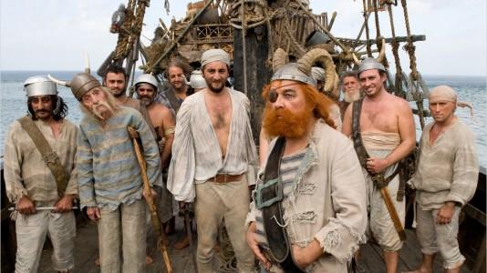 Os piratas: habituais vítimas de Astérix e Obélix
