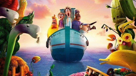"Poster e trailer para ""Chovem Almôndegas 2"""