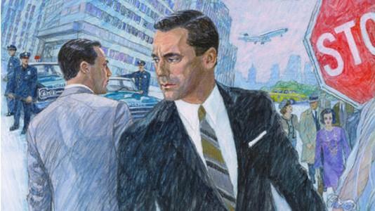 """""""Mad Men"""": poster da temporada seis criado por artista da época"""