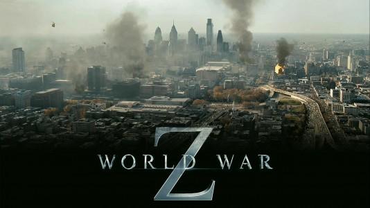"Paletes de zombies no poster de ""World War Z"""