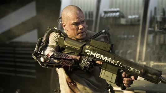 """Matt Damon e Jodie Foster no primeiro trailer de """"Elysium"""""""