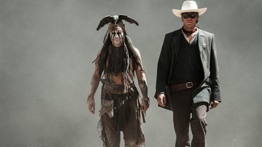 """Ordem na casa: finalmente todos os poster de """"The Lone Ranger"""""""