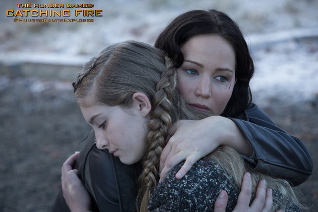 The Hunger Games: Catching Fir