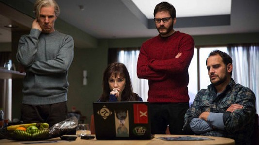 "Primeiro poster para ""The Fifth Estate"""
