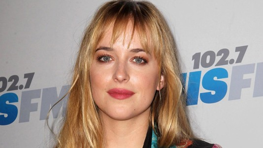 "Escolhida a protagonista do filme ""Fifty Shades of Grey"""