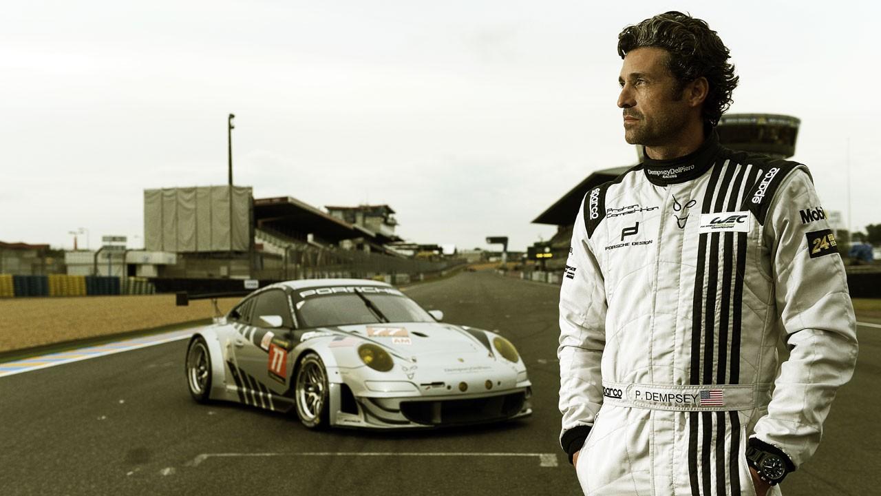 """""""Patrick Dempsey: A Caminho de Le Mans"""" em novembro no Discovery Channel"""