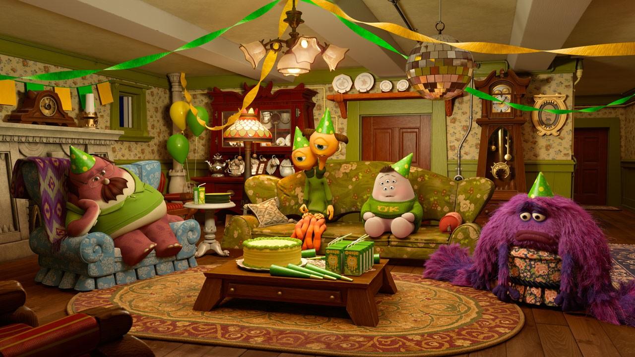 """Veja a primeira imagem da curta """"Festódromo"""" da Pixar"""