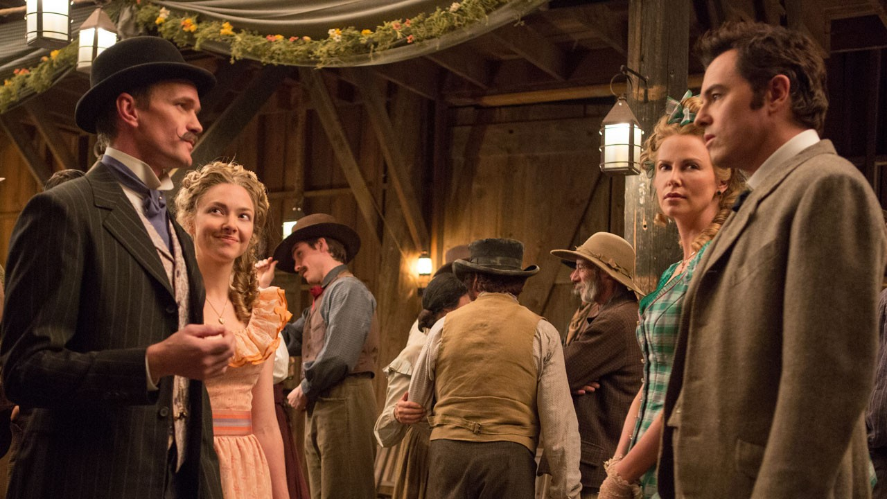 Primeira imagem do western de Seth MacFarlane
