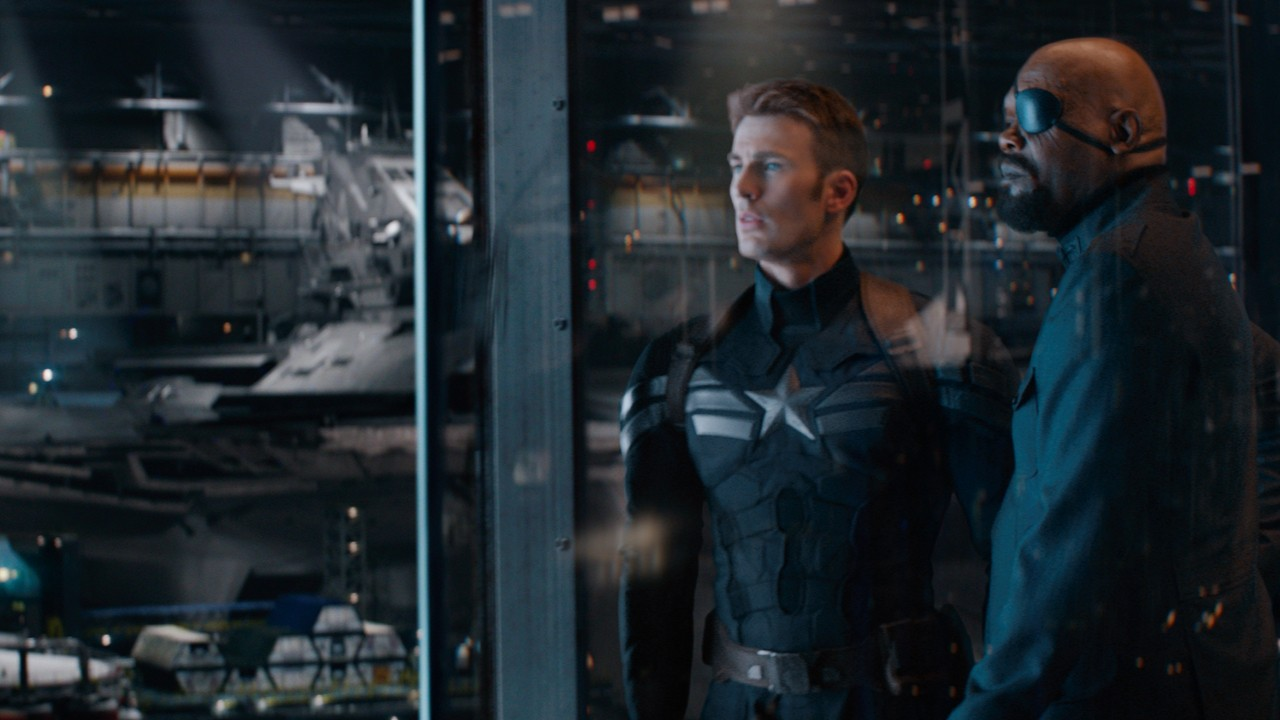 """Posters das personagens de """"Capitão América: O Soldado do Inverno"""""""