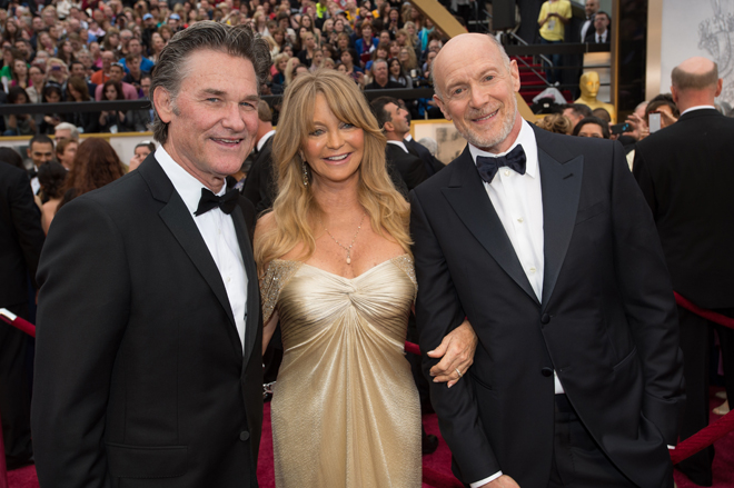Kurt Russell, Goldie Hawn, and Neil Meron