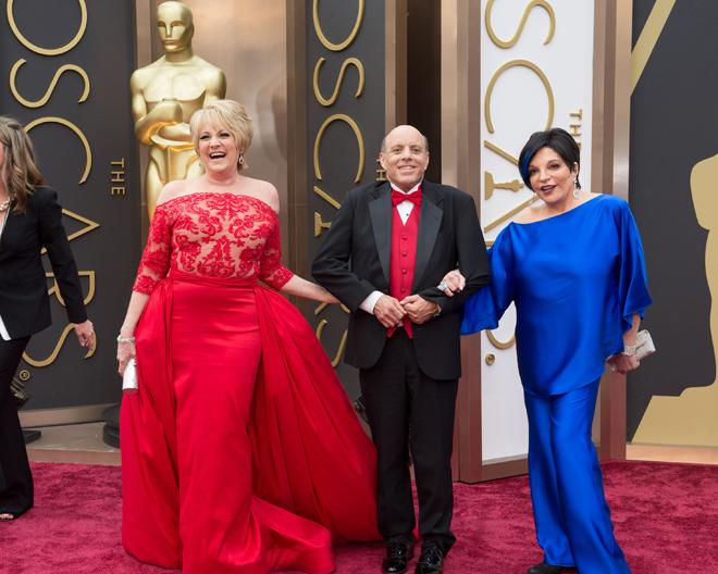 Lorna Luft, Joey Luft e Liza Minnelli