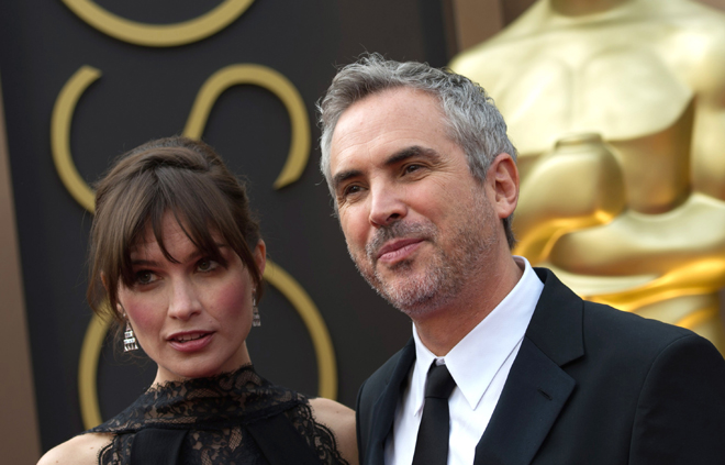 Sheherezade Goldsmith e Alfonso Cuaron