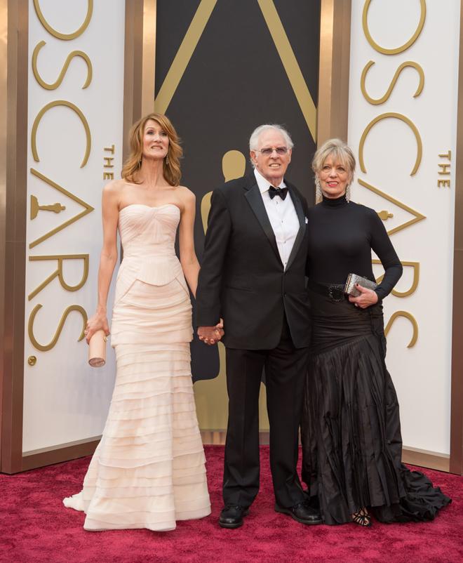 Laura Dern, Bruce Dern e convidada