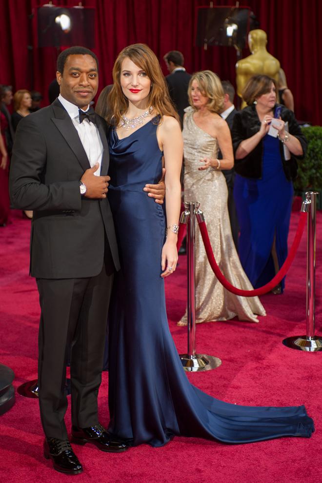 Chiwetel Ejiofor e Sari Mercer