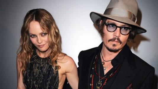 Johnny Depp e Vanessa Paradis separam-se