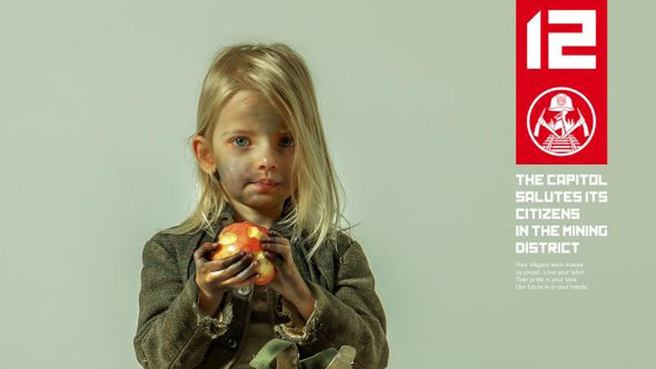 """A incrível nova campanha de promoção ao terceiro capítulo de """"The Hunger Games"""""""