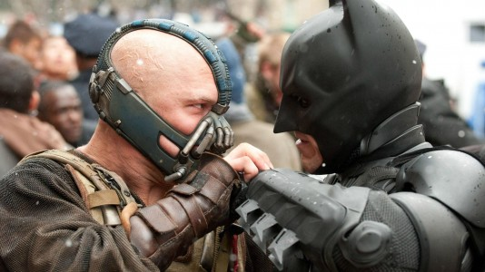 The Dark Knight Rises - Christian Bale e Tom Hardy