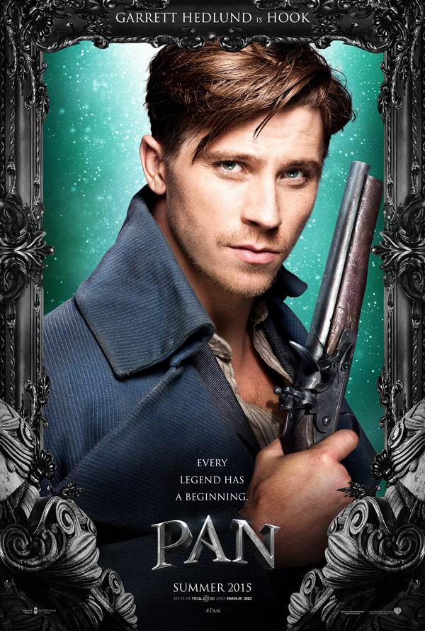 Pan - Posters 3/4: Garrett Hedlund é Hook