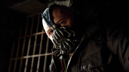 The Dark Knight Rises - Tom Hardy como o vilão Bane