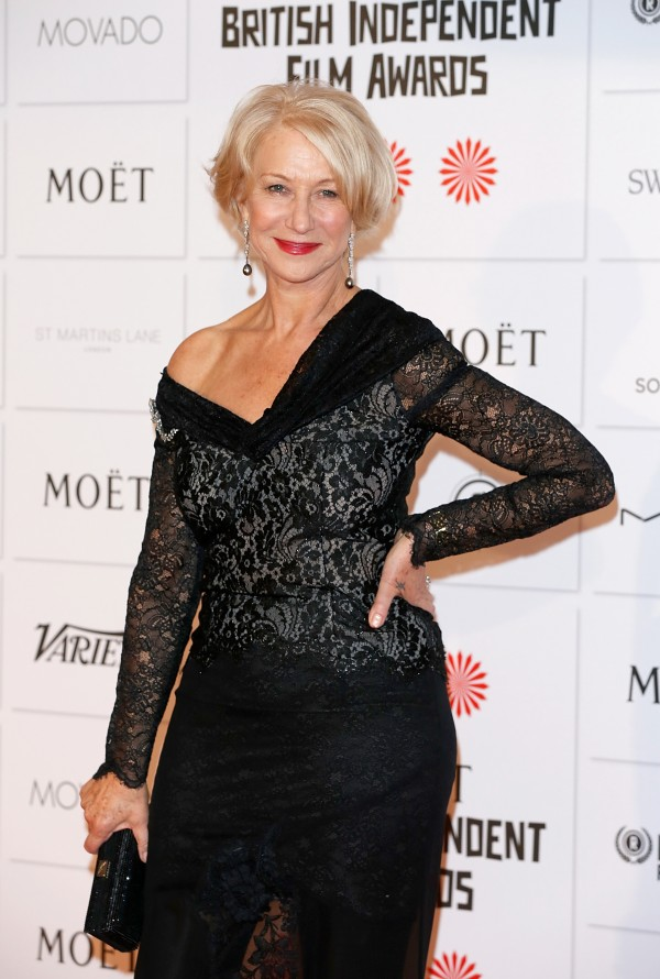 17º Moët British Independent Film Awards 2/12: Helen Mirren (Foto: Tristan Fewings/Getty Images)