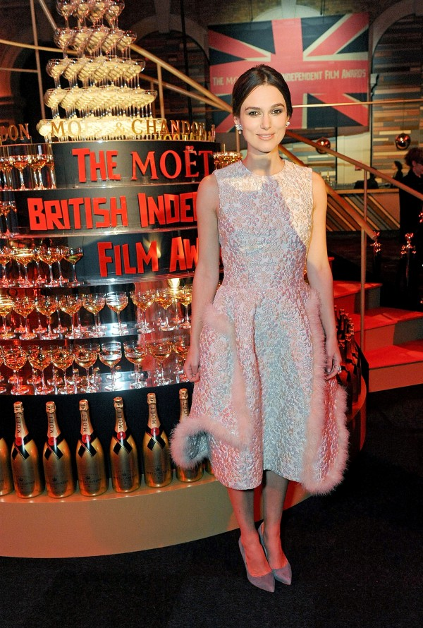 17º Moët British Independent Film Awards 8/12: Keira Knightley (Foto: Dave J Hogan/Getty Images)