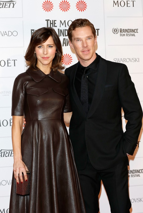 17º Moët British Independent Film Awards 7/12: Benedict Cumberbatch e Sophie Hunter (Foto: Tristan Fewings/Getty Images)