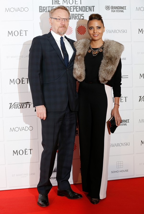 17º Moët British Independent Film Awards 11/12: Jared Harris e acompanhante (Foto: Tristan Fewings/Getty Images)