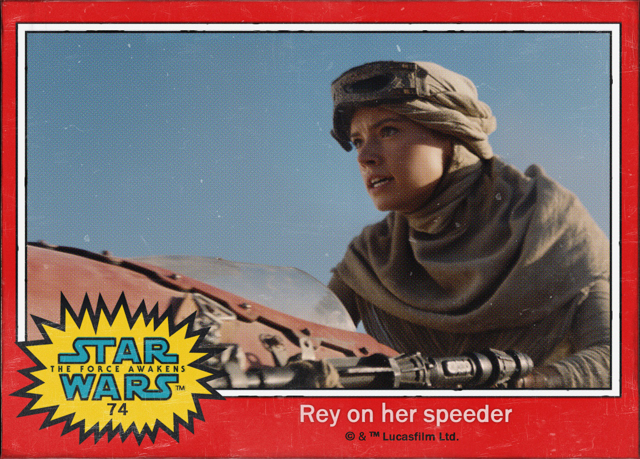 "Cromos ""Star Wars: The Force Awakens"" 2/8"