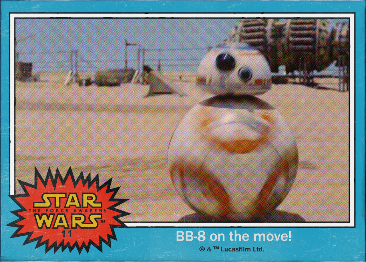 "Cromos ""Star Wars: The Force Awakens"" 1/8"