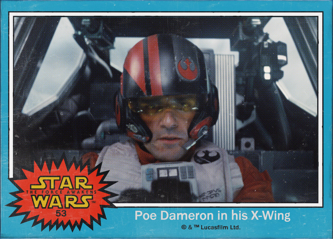 "Cromos ""Star Wars: The Force Awakens"" 5/8"