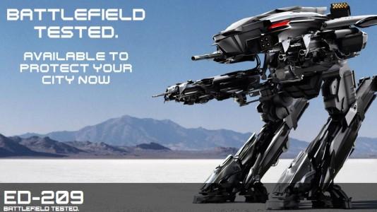 """Campanha viral de """"Robocop"""" já começou"""