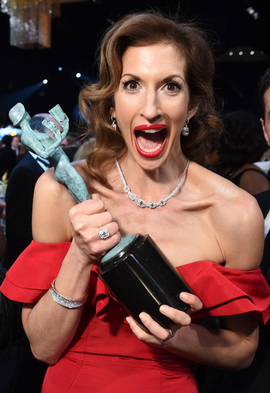 SAG Awards 2015 2/30: Alysia Reiner (Foto Dimitrios Kambouris/WireImage)