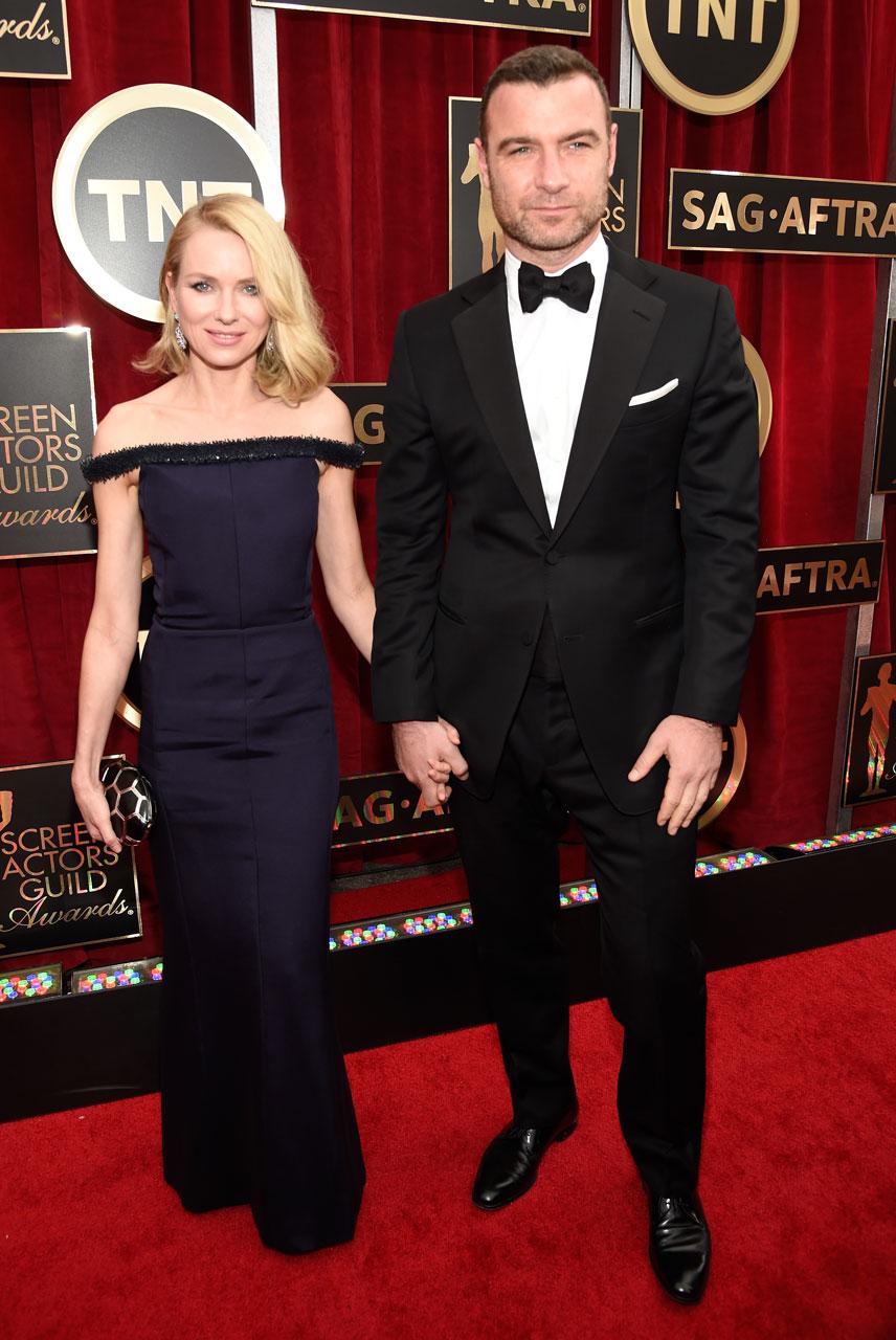 SAG Awards 2015 10/30: Naomi Watts e Liev Schreiber (Foto Kevin Mazur/WireImage)