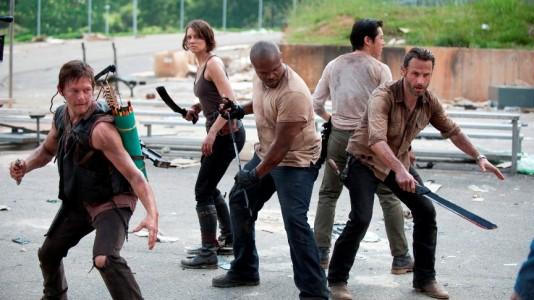 """Nova temporada de """"The Walking Dead"""" é sucesso em Portugal"""