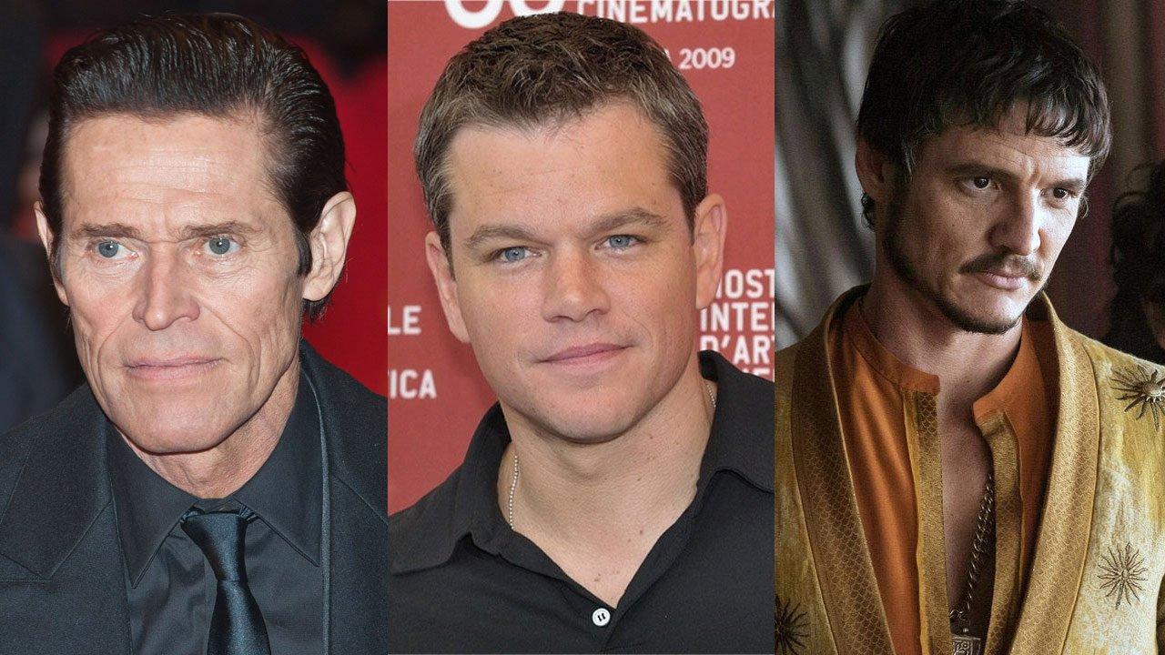 "Willem Dafoe junta-se a Matt Damon e Pedro Pascal no elenco de ""The Great Wall"""