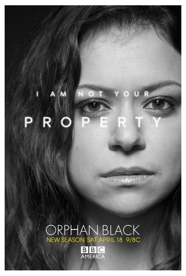 """""""Orphan Black"""" Posters da temporada 3 1/4"""