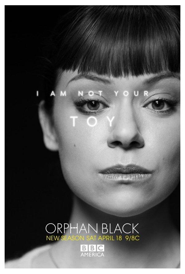 """""""Orphan Black"""" Posters da temporada 3 2/4"""