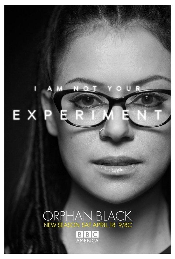 """""""Orphan Black"""" Posters da temporada 3 3/4"""