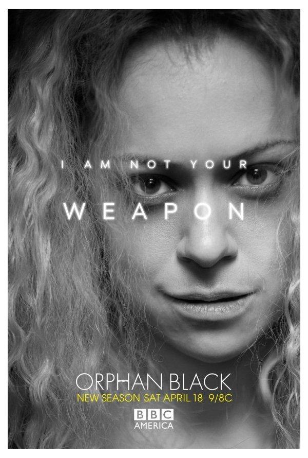 """""""Orphan Black"""" Posters da temporada 3 4/4"""