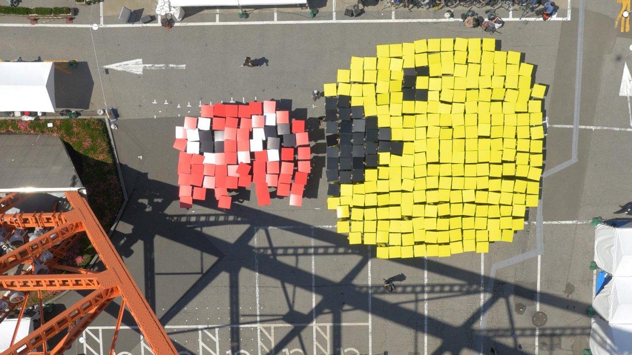 Aniversário do Pac-Man celebrado com recorde do Guinness
