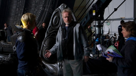 O senhor Ridley Scott apresenta