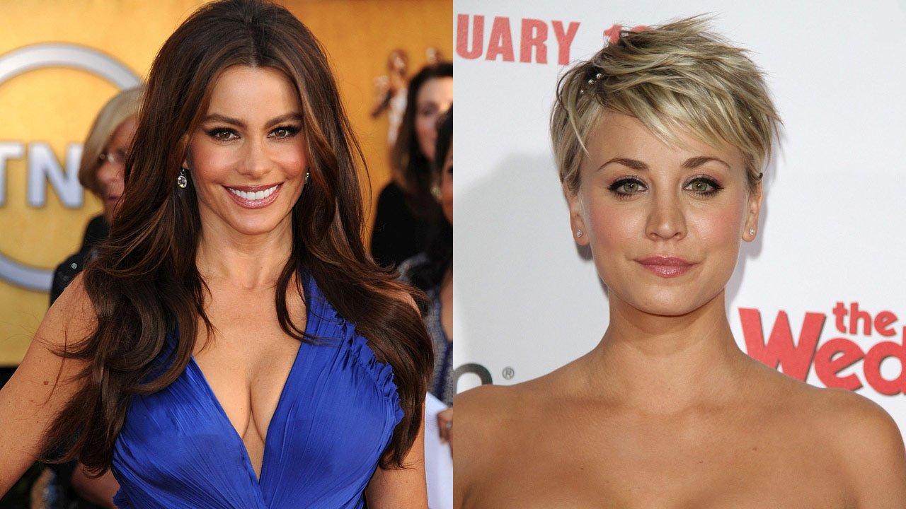 Sofia Vergara e Kaley Cuoco são as atrizes de televisão mais bem pagas em 2015
