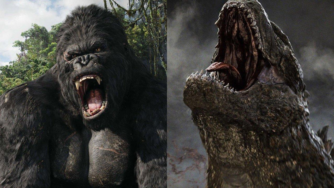 King Kong e Gozdilla enfrentam-se na Warner Bros.