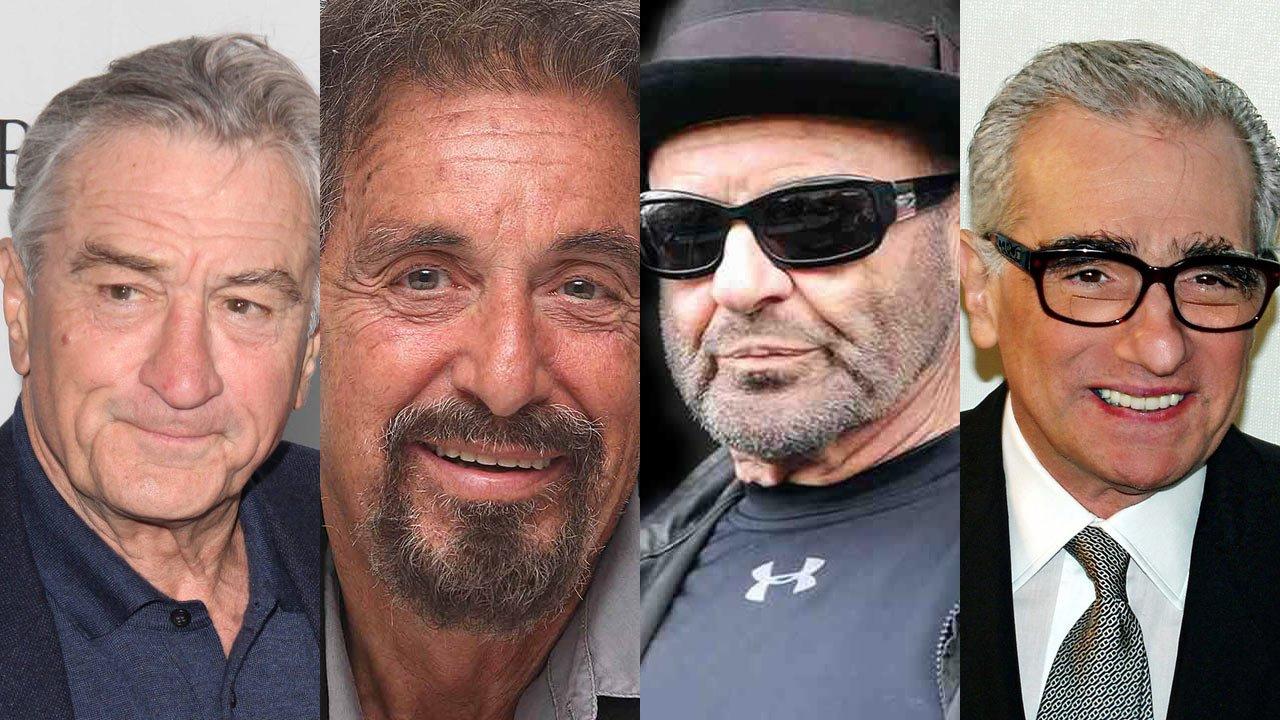 """De Niro, Pesci, Pacino e Scorsese ainda poderão estar juntos em """"The Irishman"""""""