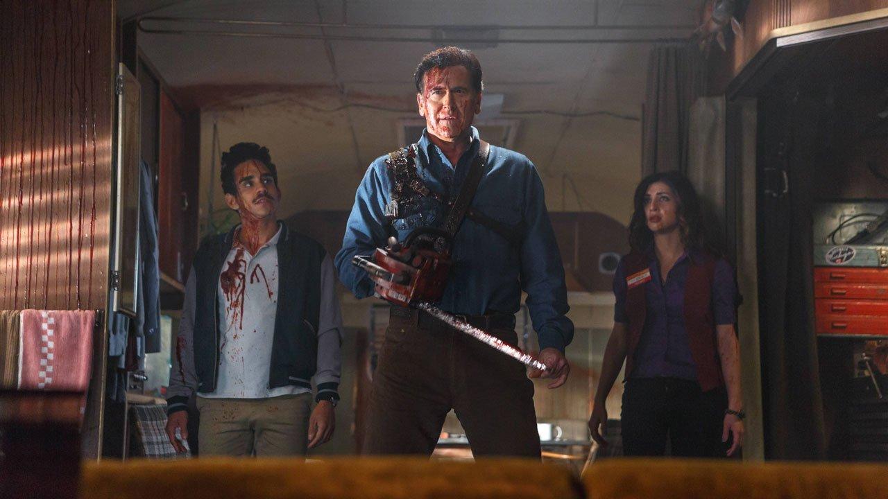 """""""Ash vs Evil Dead"""" estreia em março no MOV"""