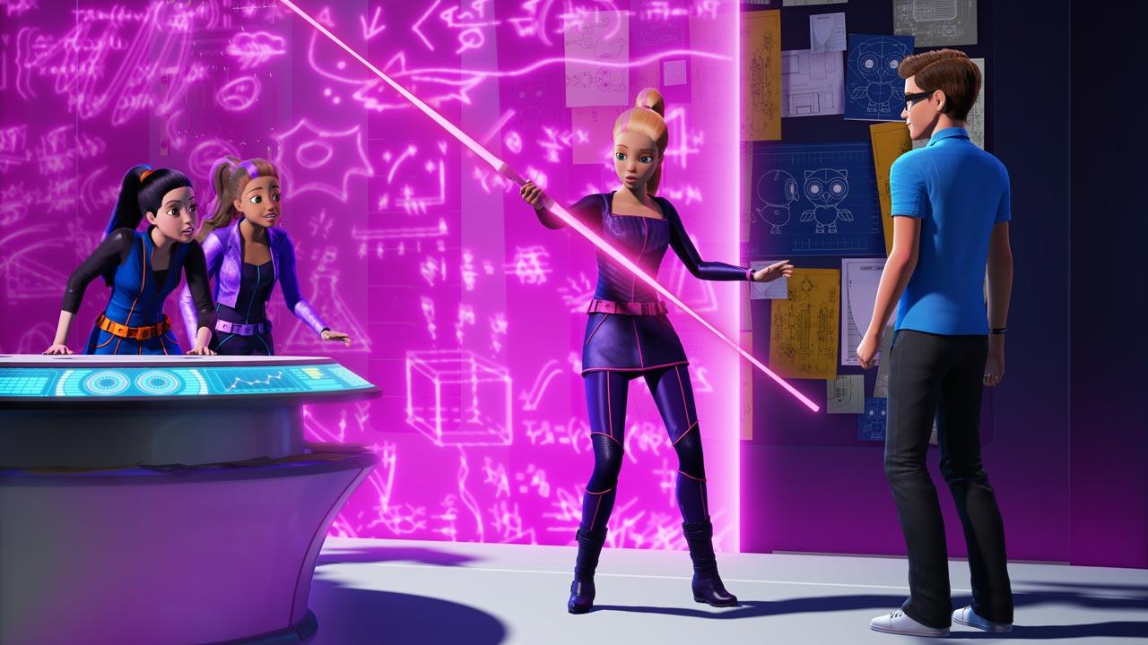 Barbie Secret Agents