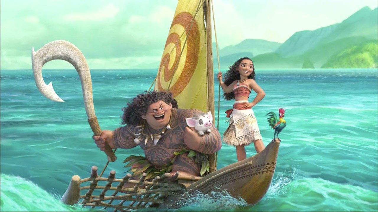 """""""Moana"""": primeiro trailer da próxima animação de natal da Disney"""